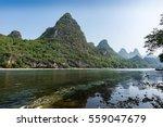 The Li River And Karst Region...
