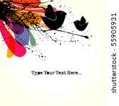 vector grunge background | Shutterstock .eps vector #55905931