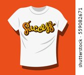 vector illustration of t shirt. ... | Shutterstock .eps vector #559082671