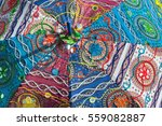 colorful summer parosol with...   Shutterstock . vector #559082887