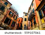 monterosso old village in... | Shutterstock . vector #559107061
