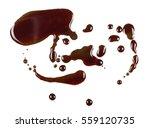 old engine oil spill and splash ... | Shutterstock . vector #559120735