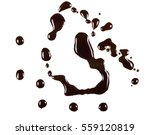 old engine oil spill and splash ... | Shutterstock . vector #559120819