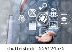 planning imagination business... | Shutterstock . vector #559124575