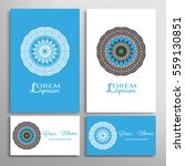 mandala sign symbol  colorful... | Shutterstock .eps vector #559130851
