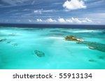 The Caribbean Ocean  Sandbars...