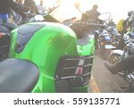 motorcycle close up  | Shutterstock . vector #559135771