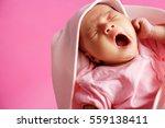 Baby Yawning  Eyes Closed