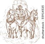 hand drawn illustration of a...   Shutterstock . vector #55914535