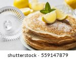 English Style Pancakes With...