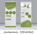 roll up banner stand template.... | Shutterstock .eps vector #559165069