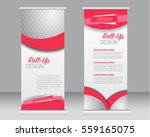 roll up banner stand template.... | Shutterstock .eps vector #559165075