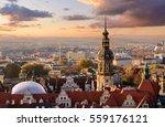panorama of the dresden  city... | Shutterstock . vector #559176121