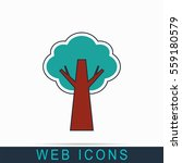 tree icon | Shutterstock .eps vector #559180579