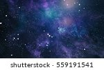 high definition star field... | Shutterstock . vector #559191541