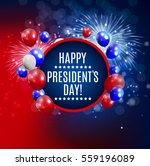 presidents day in usa... | Shutterstock .eps vector #559196089