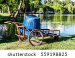 Small photo of Garden truck at Lumpini Park, Bangkok, Thailand. Gardening concept