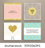 wedding invitation card or... | Shutterstock .eps vector #559206391