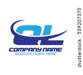 ql logo | Shutterstock .eps vector #559207375
