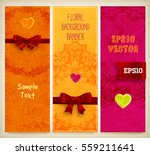wedding invitation card or... | Shutterstock .eps vector #559211641