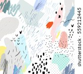 abstract creative header.... | Shutterstock .eps vector #559212445