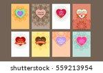 wedding invitation card or... | Shutterstock .eps vector #559213954