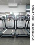 image of treadmills in a...   Shutterstock . vector #559219801