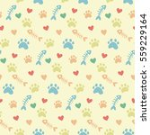 pet theme background vector... | Shutterstock .eps vector #559229164