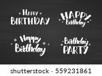 vector illustration  set of... | Shutterstock .eps vector #559231861