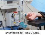 in surgery  detail on an old... | Shutterstock . vector #55924288