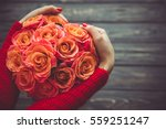 Valentine\'s Day Bouquet Of...