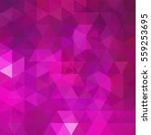 abstract pink mosaic background.... | Shutterstock .eps vector #559253695