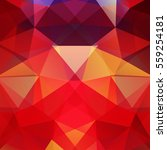 polygonal red vector background.... | Shutterstock .eps vector #559254181