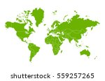 political map of the world.... | Shutterstock .eps vector #559257265