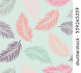 summer exotic floral tropical... | Shutterstock .eps vector #559265359