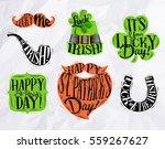 St Patrick Celebration Symbols...
