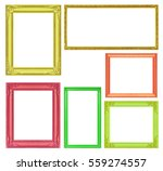 the collection colorful frames...   Shutterstock . vector #559274557