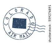 colorado post office  air mail  ...   Shutterstock .eps vector #559276891