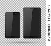 smartphone  mobile phone... | Shutterstock .eps vector #559279549