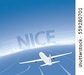 nice flight destination | Shutterstock .eps vector #559280701