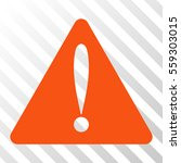 orange warning error interface...