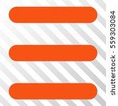 orange menu items interface...