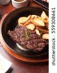 Sirloin Steak On Pan