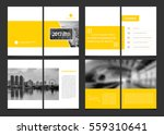 corporate design annual report... | Shutterstock .eps vector #559310641