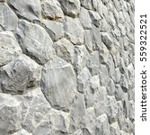 gray stone wall texture and... | Shutterstock . vector #559322521