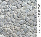 gray stone wall texture and... | Shutterstock . vector #559322545