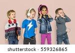 preschool children boys and... | Shutterstock . vector #559326865