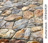 brown stone wall texture and... | Shutterstock . vector #559343929