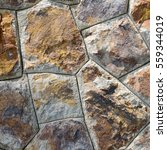 brown stone wall texture and... | Shutterstock . vector #559344019