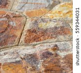 brown stone wall texture and... | Shutterstock . vector #559344031